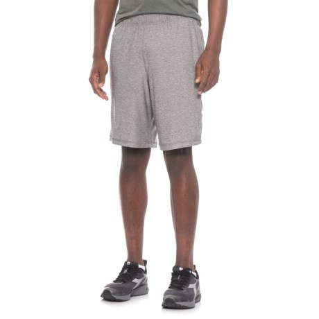 Mitre Space-Dye Active Shorts (For Men) in Steel Space Dye