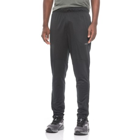 mitre Tricot Warm-Up Pants (For Men) in Black/Black