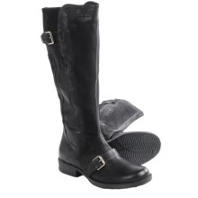 Miz Mooz Aden Knee-High Leather Boots (For Women) in Black - Closeouts