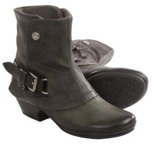 Miz Mooz Evelyn Ankle Boots - Suede (For Women) in Grey - Closeouts