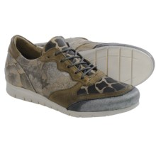 Miz Mooz Pericles Leather Sneakers (For Women) in Taupe - Closeouts