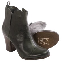 Miz Mooz Sarah Ankle Boots - Leather (For Women) in Moss - Closeouts