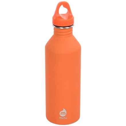 Mizu M8 Stainless Steel Bottle - BPA-Free, 27 fl.oz. in Orange - Closeouts