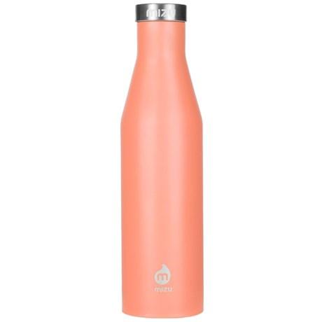 Mizu S6 Narrow Stainless Steel Water Bottle - 20 oz. in Enduro Peach