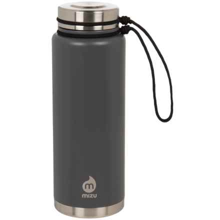 Mizu V12 Soft Touch Water Bottle - BPA-Free Stainless Steel, 36 fl.oz. in Enduro Gray - Closeouts