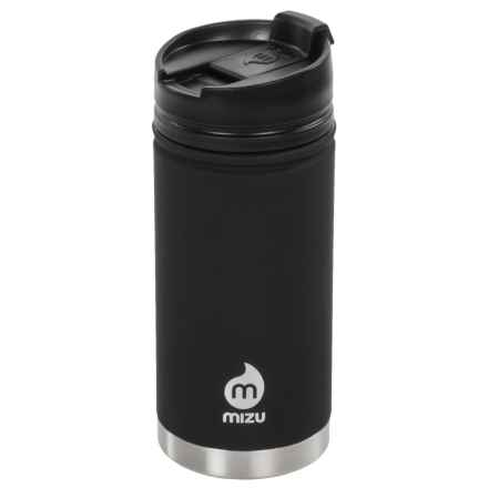 Mizu V5 Insulated Travel Mug - Stainless Steel, 15 fl.oz. in Black - Closeouts