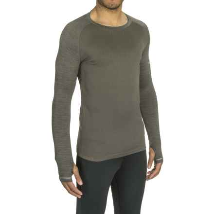 Mizuno Breath Thermo® Running Shirt - Long Sleeve (For Men) in Dark Shadow - Closeouts