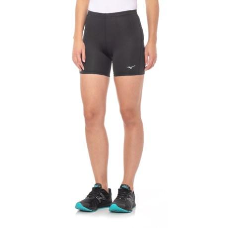 Mizuno Core Short Tights (For Women) in Black