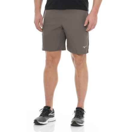 Mizuno Helix Square 8.5 Waterfall Shorts (For Men) in Tornado/Black - Closeouts