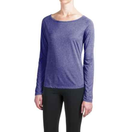 Mizuno Inspire 2.0 Shirt - Long Sleeve (For Women) in Blue - Closeouts