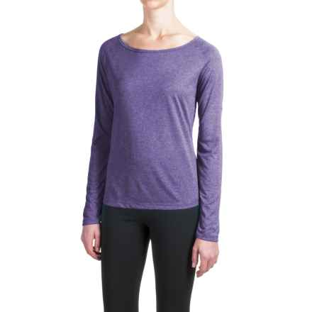 Mizuno Inspire 2.0 Shirt - Long Sleeve (For Women) in Royal Purple - Closeouts