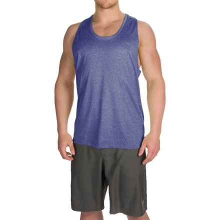 Mizuno Inspire 2.0 Singlet Shirt - Sleeveless (For Men) in Royal - Closeouts