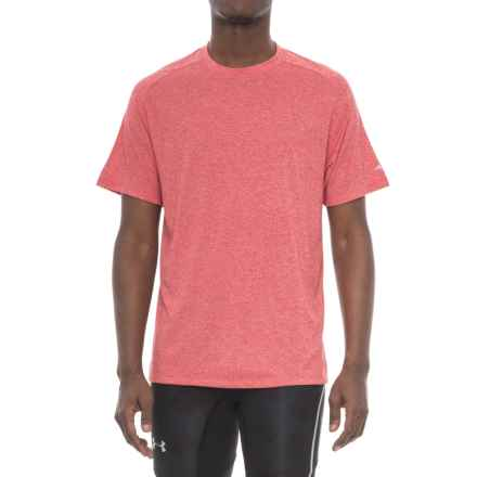 Mizuno Inspire 2.0 T-Shirt - Short Sleeve (For Men) in Chinese Red - Closeouts