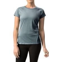 Mizuno Inspire Shirt - Short Sleeve (For Women) in Dark Slate - Closeouts