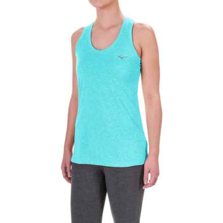 Mizuno Inspire Singlet Shirt - Sleeveless (For Women) in Capri - Closeouts