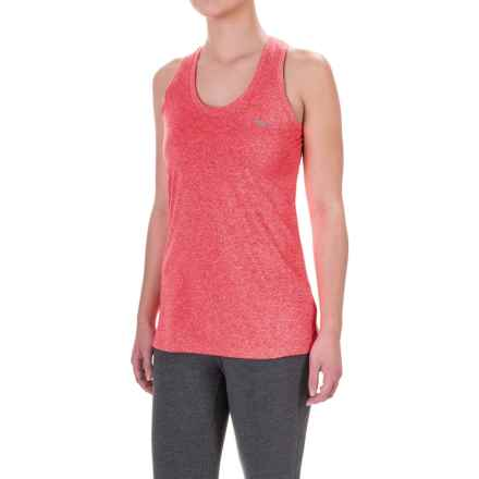 Mizuno Inspire Singlet Shirt - Sleeveless (For Women) in Red - Closeouts