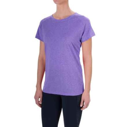 Mizuno Inspire T-Shirt - Short Sleeve (For Women) in Blue - Closeouts