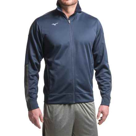 Mizuno Track Jacket (For Men) in Navy - Closeouts