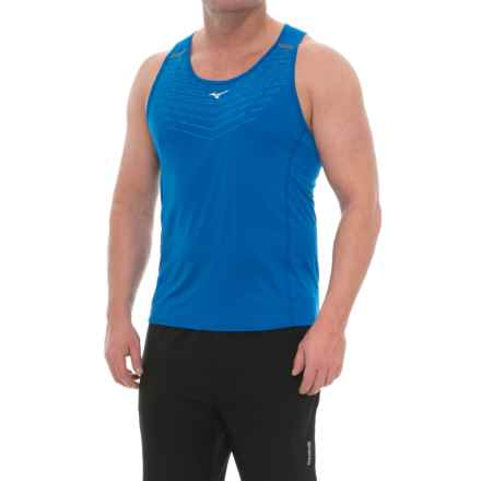 Mizuno Venture Singlet 2.0 Shirt - Sleeveless (For Men) in Nautical Blue - Closeouts