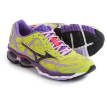 Mizuno Wave Creation 16 Running Shoes (For Women) in Flash Yellow/Lilac - Closeouts
