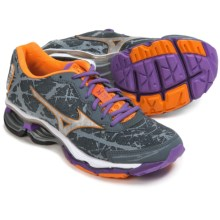 Mizuno Wave Creation 16 Running Shoes (For Women) in Turbulence/Silver - Closeouts
