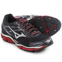 Mizuno Wave Enigma 5 Running Shoes (For Men) in Dark Shadow/Silver - Closeouts