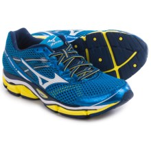 Mizuno Wave Enigma 5 Running Shoes (For Men) in Electric Blue Lemonade/White - Closeouts