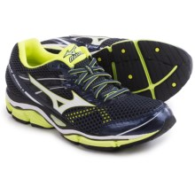 Mizuno Wave Enigma 5 Running Shoes (For Men) in Ombre Blue/White/Safety Yellow - Closeouts