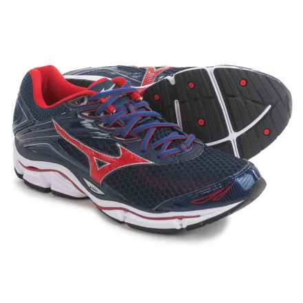 Mizuno Wave Enigma 6 Running Shoes (For Men) in Navy/Red - Closeouts
