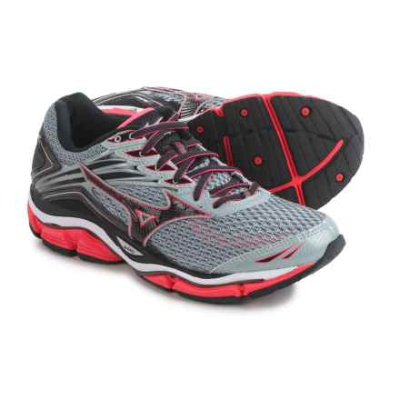 Mizuno Wave Enigma 6 Running Shoes (For Women) in Charcoal Gray/Pink - Closeouts