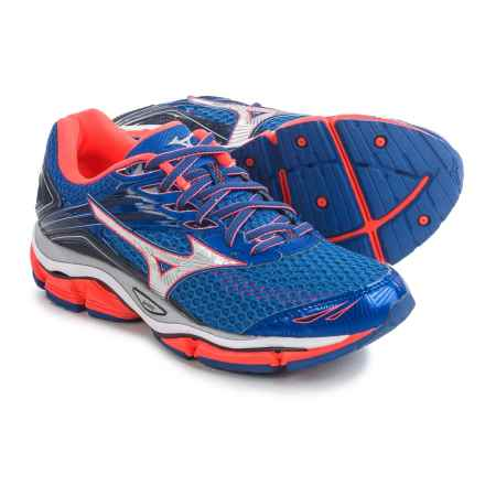 Mizuno Wave Enigma 6 Running Shoes (For Women) in Dazzling Blue/Raspberry - Closeouts