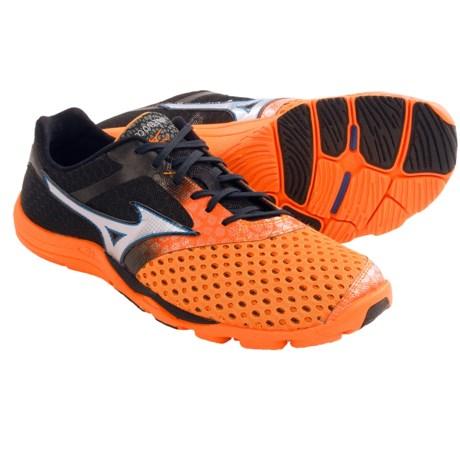 Mizuno Wave Evo Cursoris Running Shoes - Minimalist (For Men) in Anthracite/Victory Blue/White