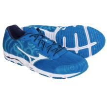 Mizuno Wave Hitogami 2 Running Shoes (For Men) in Electric Blue Lemonade/White - Closeouts