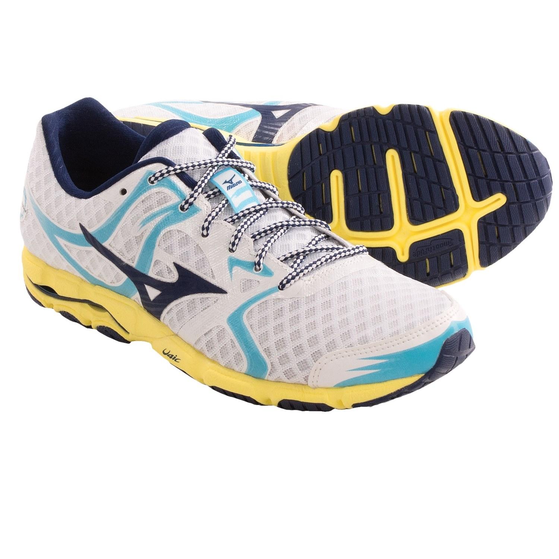 Amazing Women39s Mizuno Wave Rider 19 Running Shoe  EBay