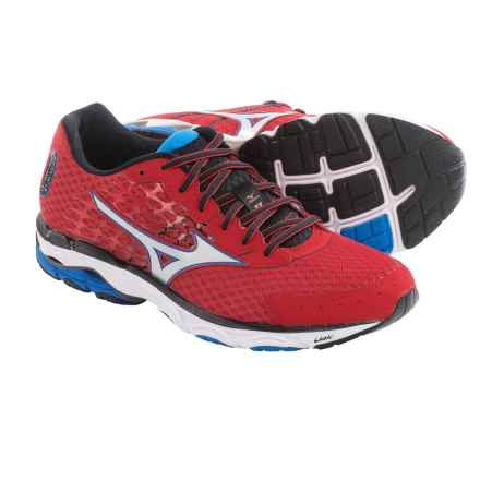 Mizuno Wave Inspire 11 Running Shoes (For Men) in Shin Red/Silver - Closeouts