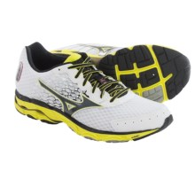 Mizuno Wave Inspire 11 Running Shoes (For Men) in White/Black - Closeouts