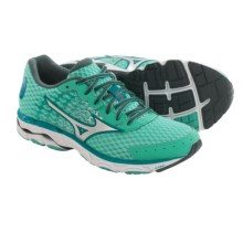 Mizuno Wave Inspire 11 Running Shoes (For Women) in Florida Keys/Silver - Closeouts