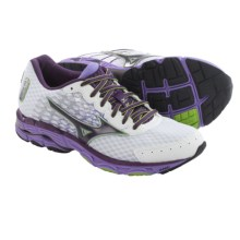 Mizuno Wave Inspire 11 Running Shoes (For Women) in White/Shadow Purple - Closeouts