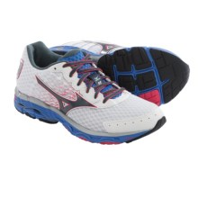 Mizuno Wave Inspire 11 Running Shoes (For Women) in White/Turbulence - Closeouts