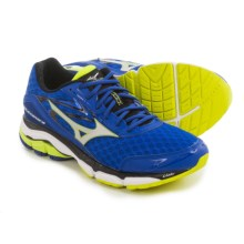 Mizuno Wave Inspire 12 Running Shoes (For Men) in Surf The Web/Silver/Safety Yellow - Closeouts