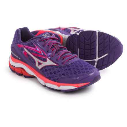 Mizuno Wave Inspire 12 Running Shoes (For Women) in Royal Purple/Silver - Closeouts
