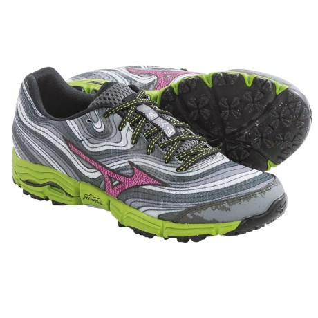 Mizuno Wave Kazan Trail Running Shoes (For Women)