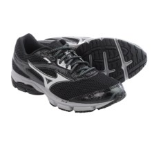 Mizuno Wave Legend 3 Running Shoes (For Men) in Black/Silver - Closeouts