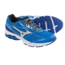 Mizuno Wave Legend 3 Running Shoes (For Men) in Electric Blue Lemonade/Silver - Closeouts