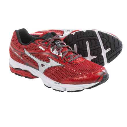 Mizuno Wave Legend 3 Running Shoes (For Men) in Shin Red/Silver - Closeouts