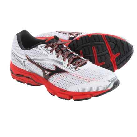 Mizuno Wave Legend 3 Running Shoes (For Men) in White/Black - Closeouts