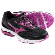 Mizuno Wave Legend 3 Running Shoes (For Women) in Black/Pink - Closeouts