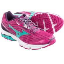 Mizuno Wave Legend 3 Running Shoes (For Women) in Fuchsia Purple/Waterfall - Closeouts