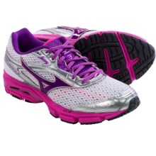 Mizuno Wave Legend 3 Running Shoes (For Women) in White/Gentian Violet - Closeouts