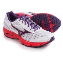 Mizuno Wave Legend 3 Running Shoes (For Women) in White/Purple/Pink - Closeouts